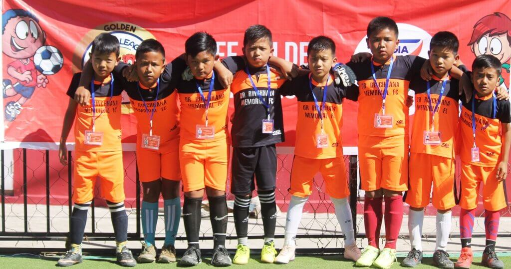 Golden Baby League, All India Football Federation