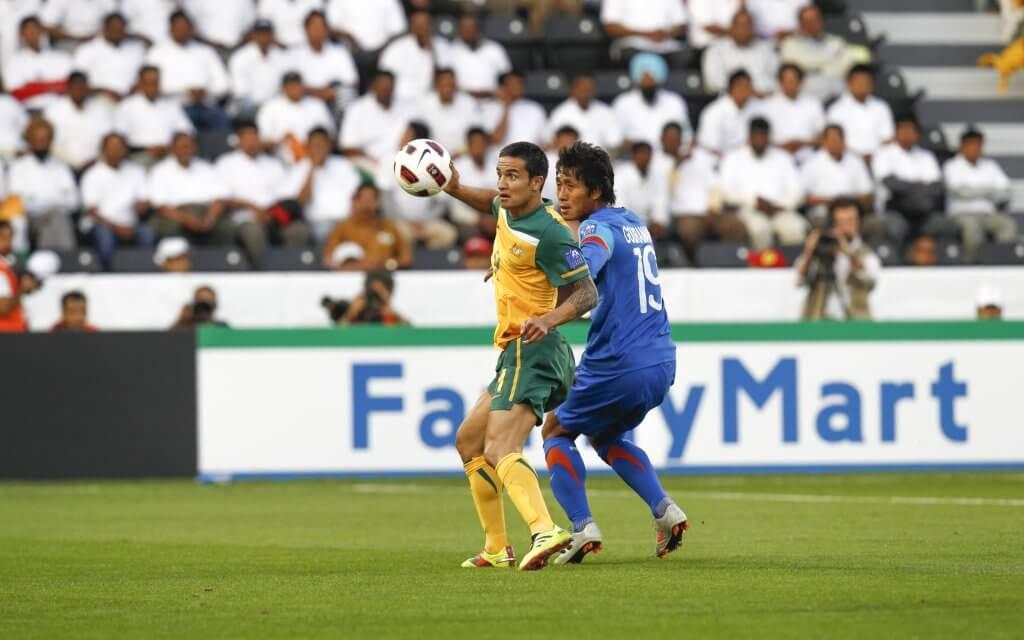 Gouramangi Singh, AFC Asian Cup 2011, Tim Cahill