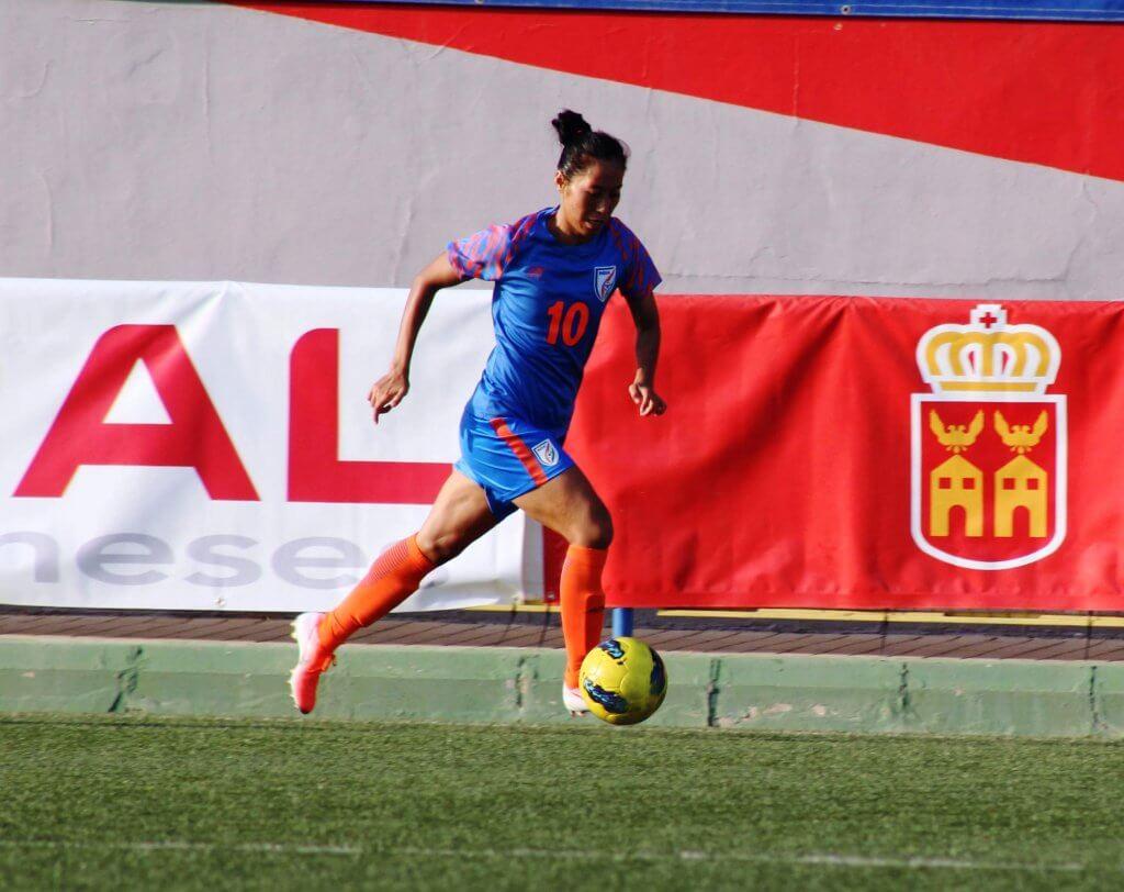 Bala Devi, Women's Football, India Senior Women's Team