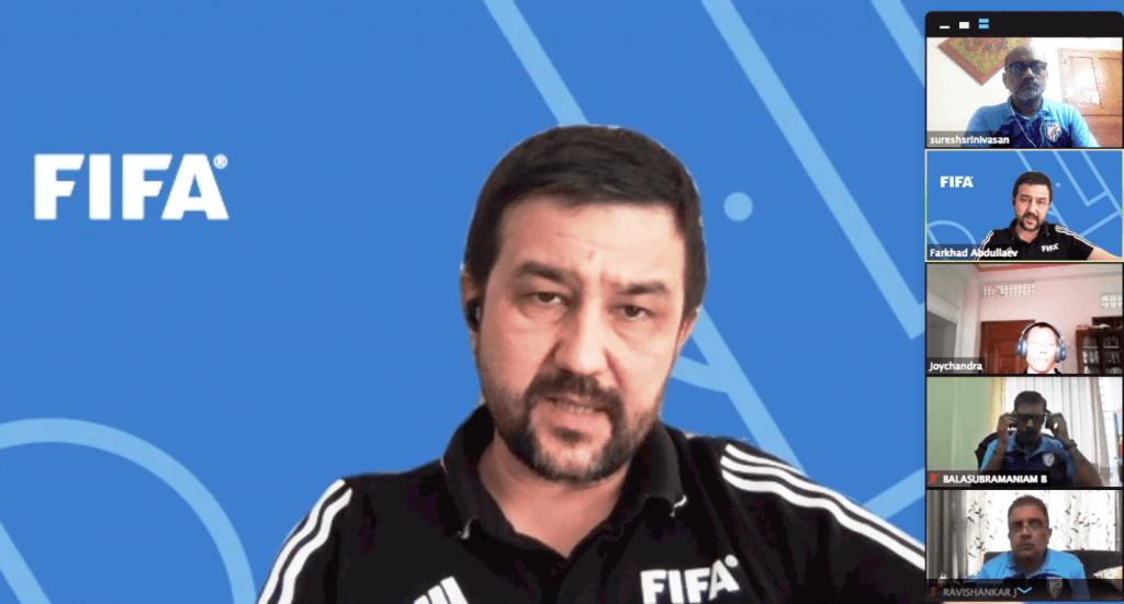 Farkhad Abdullaev, FIFA MA Course, FIFA, Referee, Referee assessor