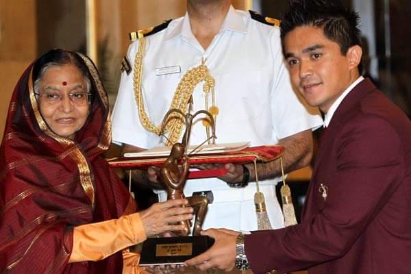 Sunil Chhetri, Arjuna Award