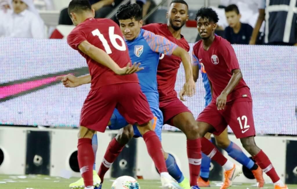 Anirudh Thapa, Qatar, FIFA World Cup Qatar 2022 qualifier