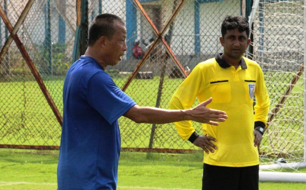 Raktim Saha, Referees, Indian Football Forward Together